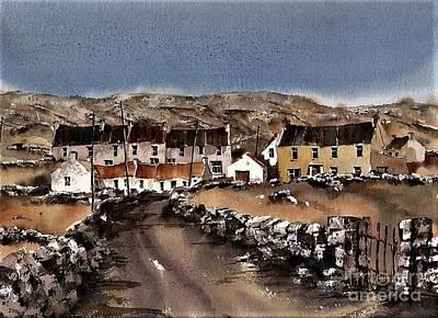 Kilmurvey Inishmore Aran Art Print