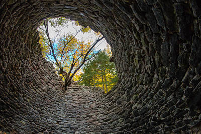 Photograph - Kiln's Eye by Mike Hainstock