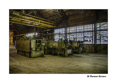 Art Print featuring the photograph Kilns by R Thomas Berner