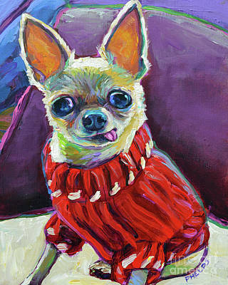 Painting - Kilo In A Sweater  by Robert Phelps