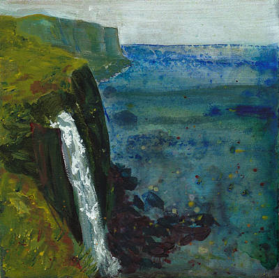 Painting - Kilt Rock, Isle Of Skye by Eleanore Ditchburn