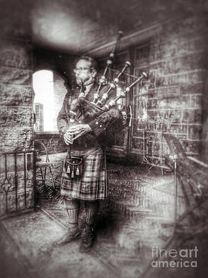 Bagpipes Wall Art - Photograph - Kilts Piper   by Steven Digman