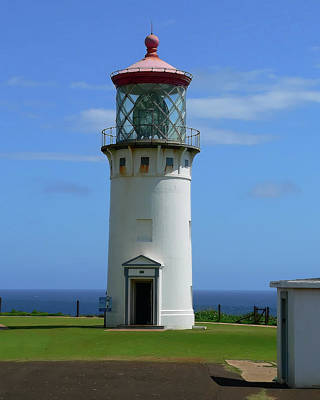 Photograph - Kiluea Light 2 by Gordon Engebretson