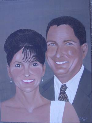 Kim And Kevin Art Print by KC Knight
