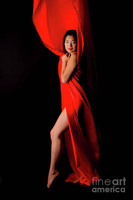 Amy Weiss - Kim in Red by Robert McAlpine