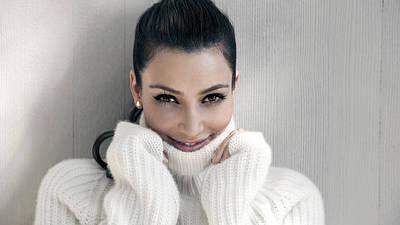 Kim Kardashian Digital Art - Kim Kardashian 2016 by F S