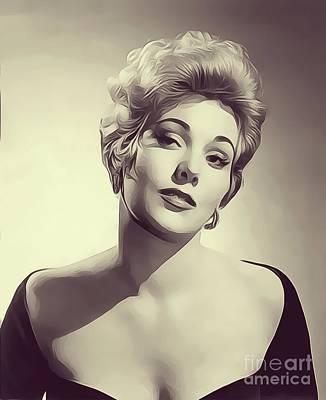 All American - Kim Novak, Vintage Actress by Esoterica Art Agency