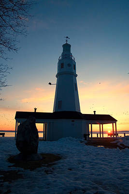 Kimberly Pointe Lighthouse Print by Joel Witmeyer