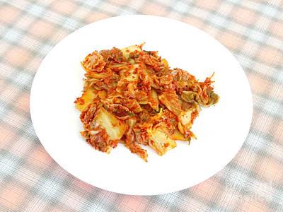 Kimchi Art Print by Scimat