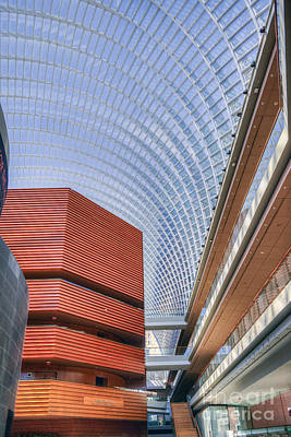 Philadelphia Photograph - Kimmel Center For The Performing Arts by David Zanzinger