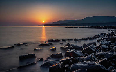 Photograph - Kimmeridge Bay Sunset by Framing Places
