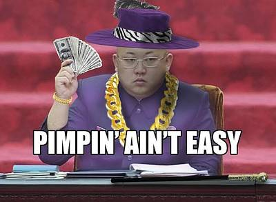 Kimmy Be Pimpin' Art Print