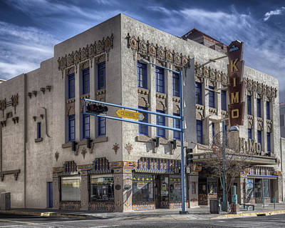 Photograph - Kimo Theater Albuquerque by Alan Toepfer