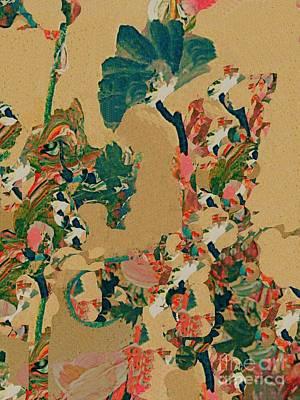 Digital Art - Kimono Flower by Nancy Kane Chapman