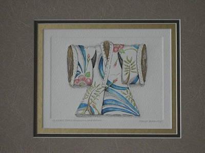Painting - Kimono Shirley Poppies by Brenda Berdnik