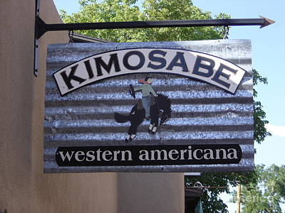 Kimosabe Art Print by Mary Rogers