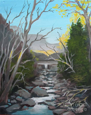 Painting - Kim's Creek by Carol Hart