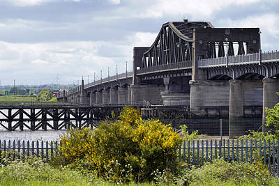 Art Print featuring the photograph Kincardine Bridge by Jeremy Lavender Photography