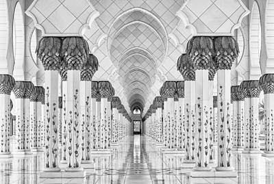 Temple Photograph - Kind Of Symmetry by Stefan Schilbe