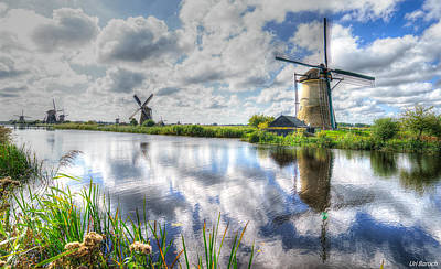 Photograph - Kinderdijk by Uri Baruch