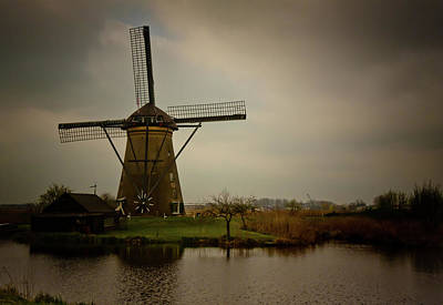 Photograph - Kinderjik Windmill by Jill Smith