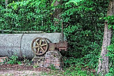 Photograph - Kinderlou Forest Steam Pump 1860 by Ella Kaye Dickey