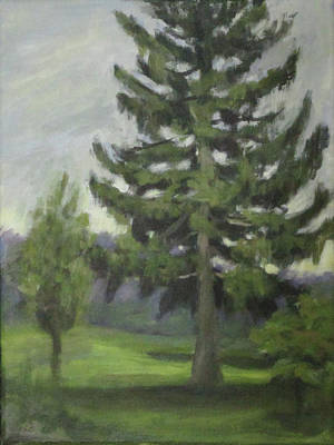 Painting - Kindleberger Park 85th by Anna Barnhart