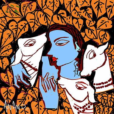 Digital Art - Deep Love by Anand Swaroop Manchiraju