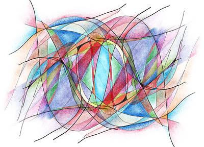 Kindred Spirits Drawing - Kindred Spirits by Alla Ilencikova