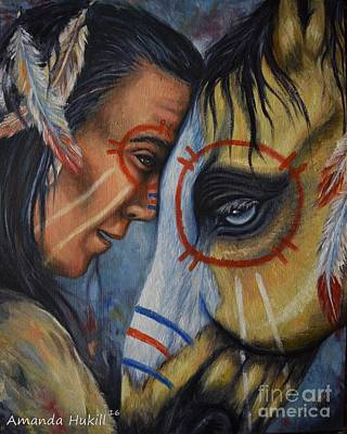 Painting - Kindred Spirits by Amanda Hukill