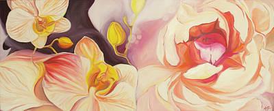 Painting - Kindred Spirits by Karen Hurst