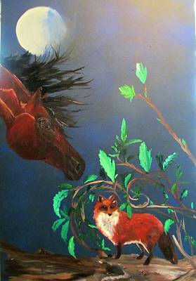 Painting - Kindred Spirits by Susan Snow Voidets