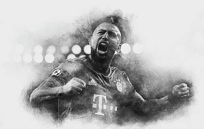 Bayern Digital Art - King Arturo by Robert Barsby