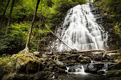 Crabtree Falls - Blue Ridge Parkway North Carolina Art Print