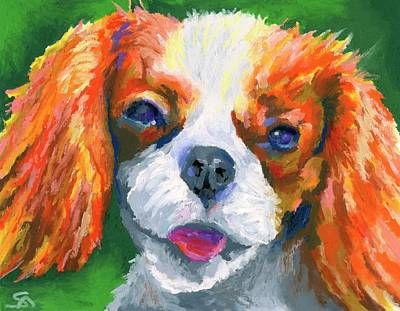 Painting - King Charles by Stephen Anderson