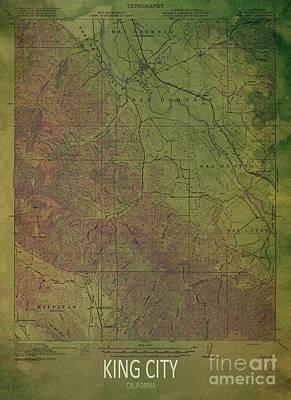 Giftideas Digital Art - King City 1919 by Pablo Franchi