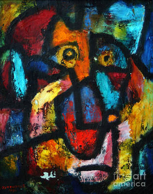 Painting - King Clown by Vladimir Kozma