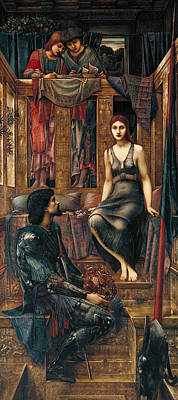 Medieval Painting - King Cophetua And The Beggar Maid by Edward Burne-Jones