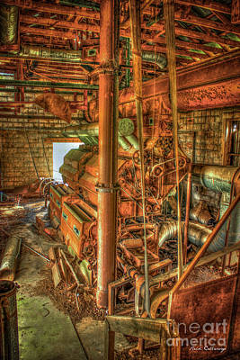 Boll Photograph - King Cotton Gin Cotton Gin Art by Reid Callaway