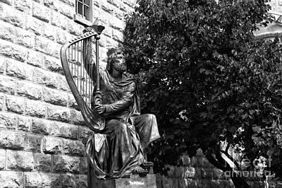 Statue Of David Photograph - King David Statue by John Rizzuto