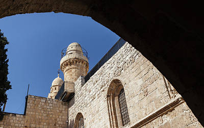 Photograph - King David's Tomb, Jerusalem, Israel by Alexandre Rotenberg