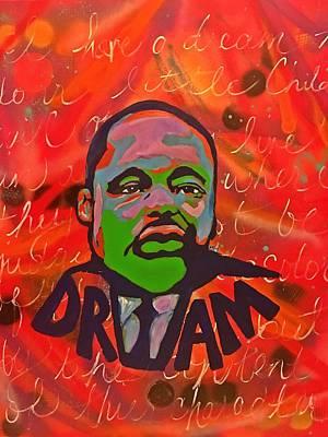 Painting - King Dreaming by Miriam Moran