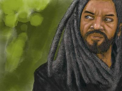 King Ezekiel Art Print