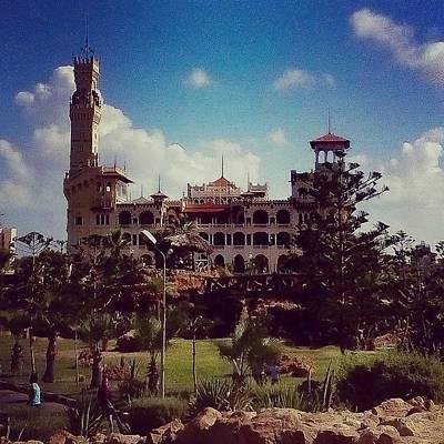 Photograph - King Farouk Castle, Alexandria, Egypt by Samuel Pye