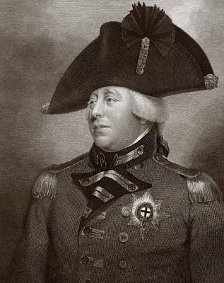 Hanoverian Drawing - King George IIi Of Great Britain And by Vintage Design Pics