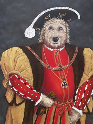 King Gunther The 8th Art Print by Diane Daigle