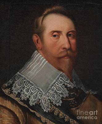 Adolf Painting - King Gustaf II Adolf by Celestial Images