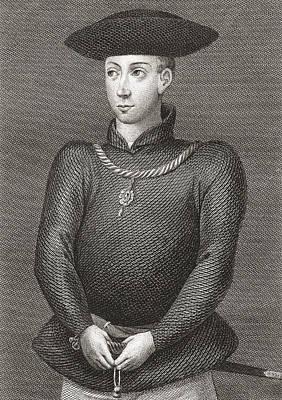King James II Of Scotland, 1430-1460 Print by Vintage Design Pics