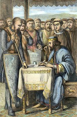 Autographed Photograph - King John (c1167-1216) by Granger