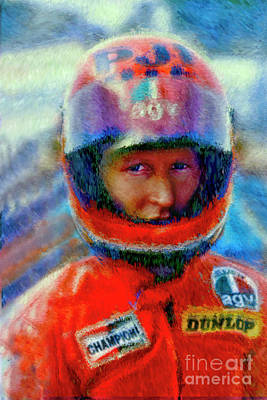 Photograph - King Kenny Roberts by Blake Richards